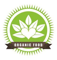 organic food vector image