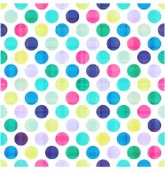 seamless polka dots texture pattern vector image