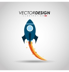 start-up icon design vector image