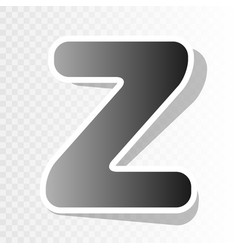 letter z sign design template element new vector image