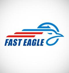 eagle business logo vector image