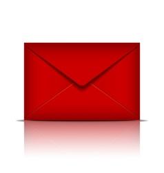 Red envelope vector image