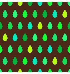 Green Tone Rain Brown Background vector image vector image