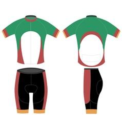 Bike sport shirt design vector