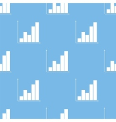 Chart seamless pattern vector image