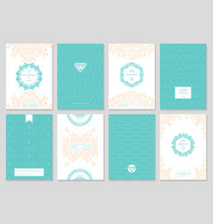 Creative card template vector