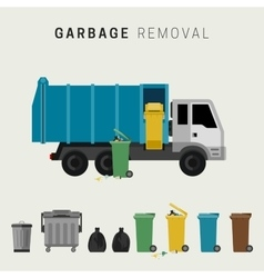 Garbage removal vector