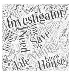 how to save money Word Cloud Concept vector image