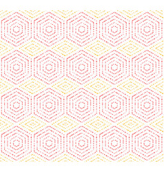Modern seamless dotted pattern vector