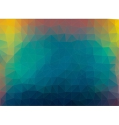 multicolor composition with ceramic shapes vector image