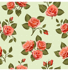 Seamless Floral pattern 7 vector image