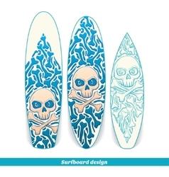Surfboard Design One vector