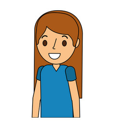 Surgeon woman avatar character icon vector