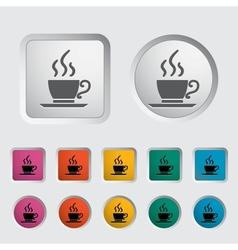 Cafe single icon vector image