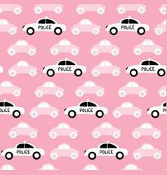 colorful stylized cars vector image