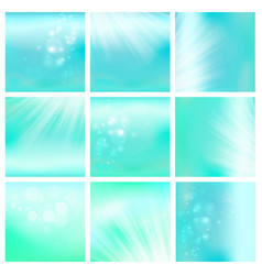 light blue sky or water blur vector image vector image