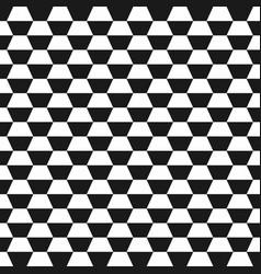 hexagon geometric seamless background vector image