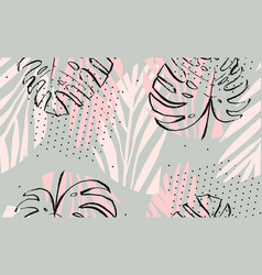 hand drawn abstract artistic freehand vector image vector image