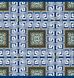 Checkered greek seamless pattern modern vector