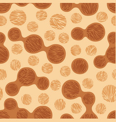 Leopard stylized seamless pattern vector