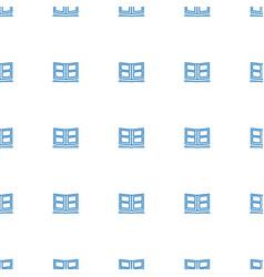 Photo album icon pattern seamless white background vector
