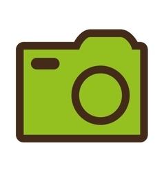 colorful media icon graphic vector image