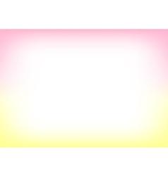 Yellow Pink Copyspace Background vector image vector image