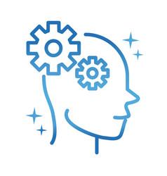alzheimers disease neurological brain cognition vector image