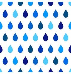 Blue Tone Rain White Background vector image