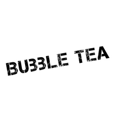 Bubble Tea rubber stamp vector