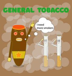 May 31 no tobacco day cuban cigar orders vector