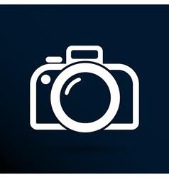 Photo camera icon symbol photography vibrant vector
