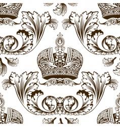 decorative imperial design vector image vector image