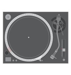 Vinyl turntable vector