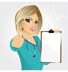 nurse doctor healthcare and medicine vector image vector image