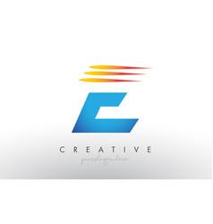 Creative corporate e letter logo icon design with vector