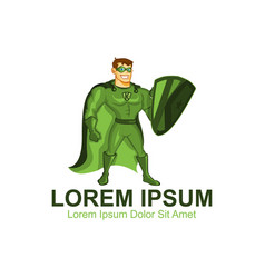 K green mascots vector