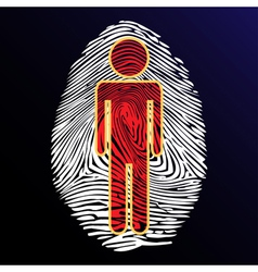 Thumbprint identity vector