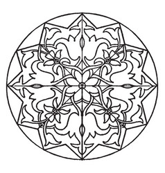 arabian star-shape panel edited by fcit to vector image