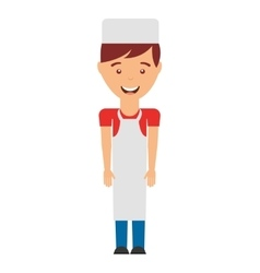butcher man isolated icon design vector image