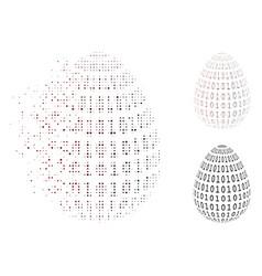 Dispersed pixel halftone binary digital abstract vector