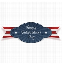 Festive Graphic Element for Independence Day vector image