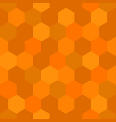 hexagon honey comb theme seamless pattern for vector image