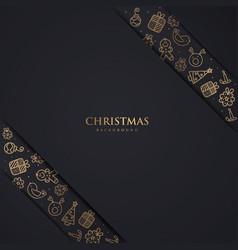 Luxury christmas backgorund vector