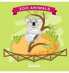 Zoo Animal Koala vector image