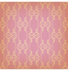vintage seamless with graphic pattern vector image