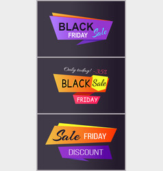 Black friday sale only today vector