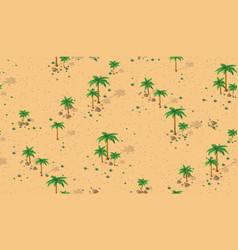 forest desert pattern vector image