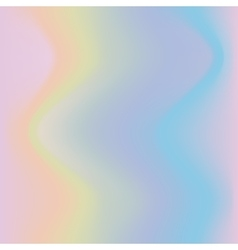 Hologramic trendy background vector