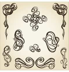 scroll collection 1 vector image